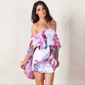 NWT Asilio Floral Monster's Ball Dress